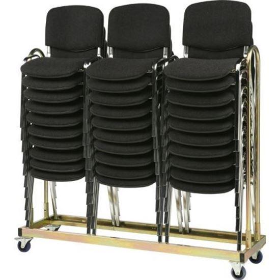 Billede af 30 Luxus stole & 5 rektangulære borde