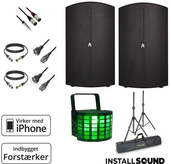 Billede af Lille Lyd pakke – op til 30 gæster – inkl. LED lyseffekt